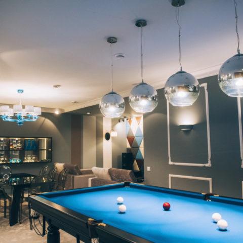 Лаунж-бар в частном доме