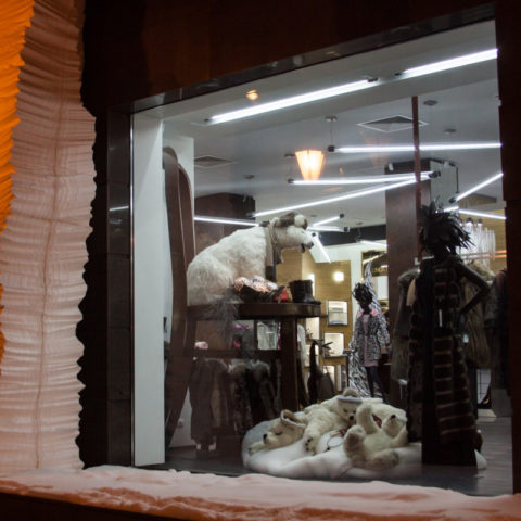 Серии витрин магазинов элитной одежды RICH FASHION