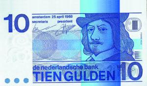 дизайн голландских банкнот
